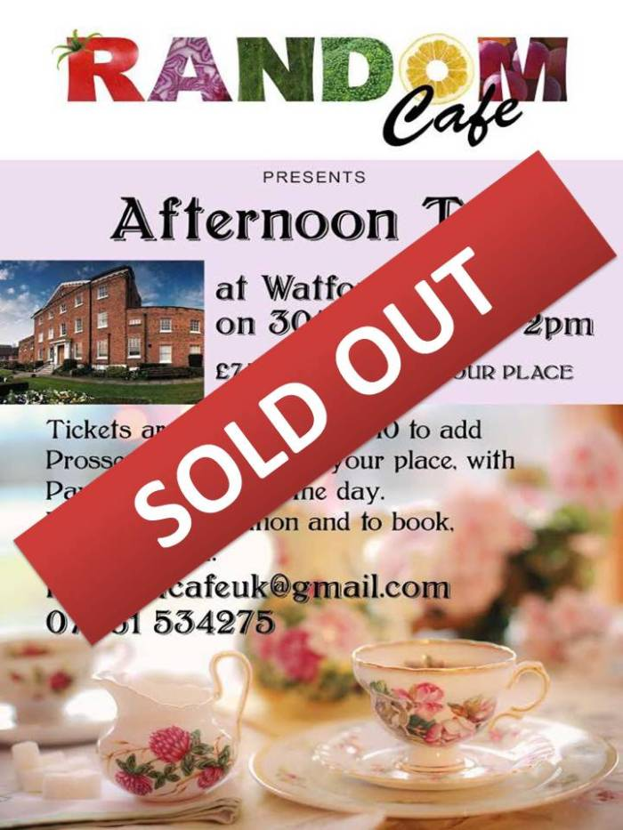 Sold Out Afternoon Tea